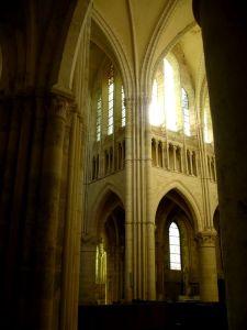 nef de l'église d'Orbais l'abbaye